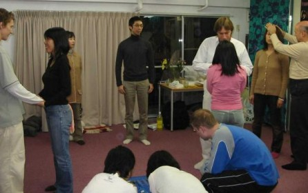During the 'I am the Soul that I am' exercise in the Awaken workshop