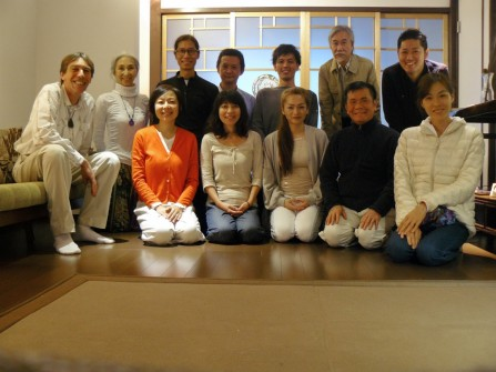 KYOTO: After the Group Healing/Meditation Seminar