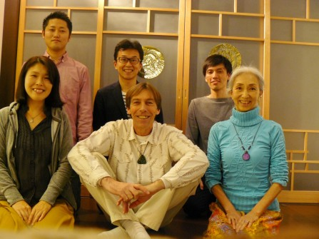 KYOTO: The very intense seminar 'Awaken to your True Self' is at it's end