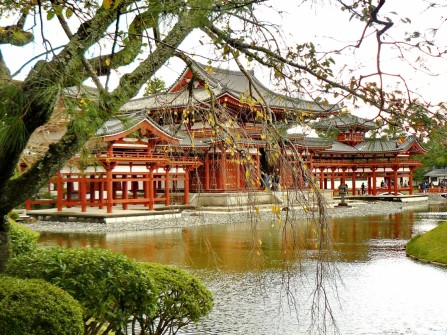 KYOTO: A masterpiece, the Uji Byodoin.